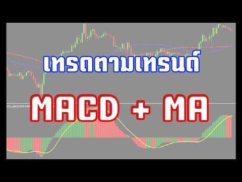 การใช้ MACD และ Moving Average เทรดตามเทรนด์ Forex