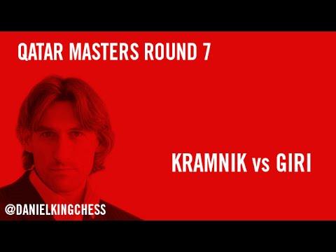 Qatar Masters 2014 Round 7 Kramnik vs Giri