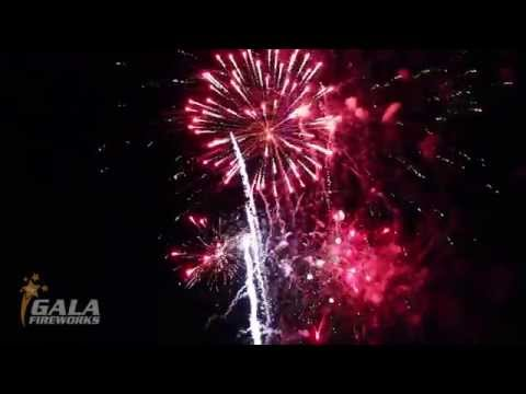 Wedding Fireworks to Music at Salford Hall