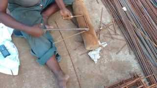How to bend iron rod