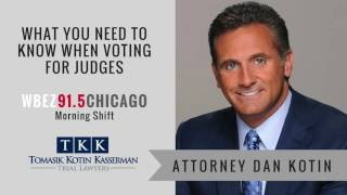 Tomasik Kotin Kasserman, LLC Video - Attorney Dan Kotin on WBEZ 91.5 Chicago (Morning Shift)