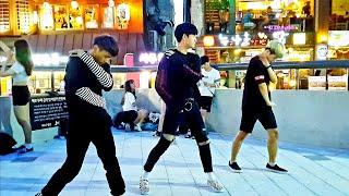 《WannaOne_#Never》#P_BAG(혼성댄스팀#피백) 워너원#네버 20170826 HongDae Bu…