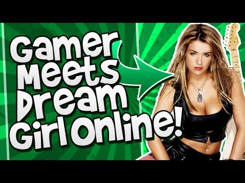 Gamer Meets His DREAM GIRL Online!