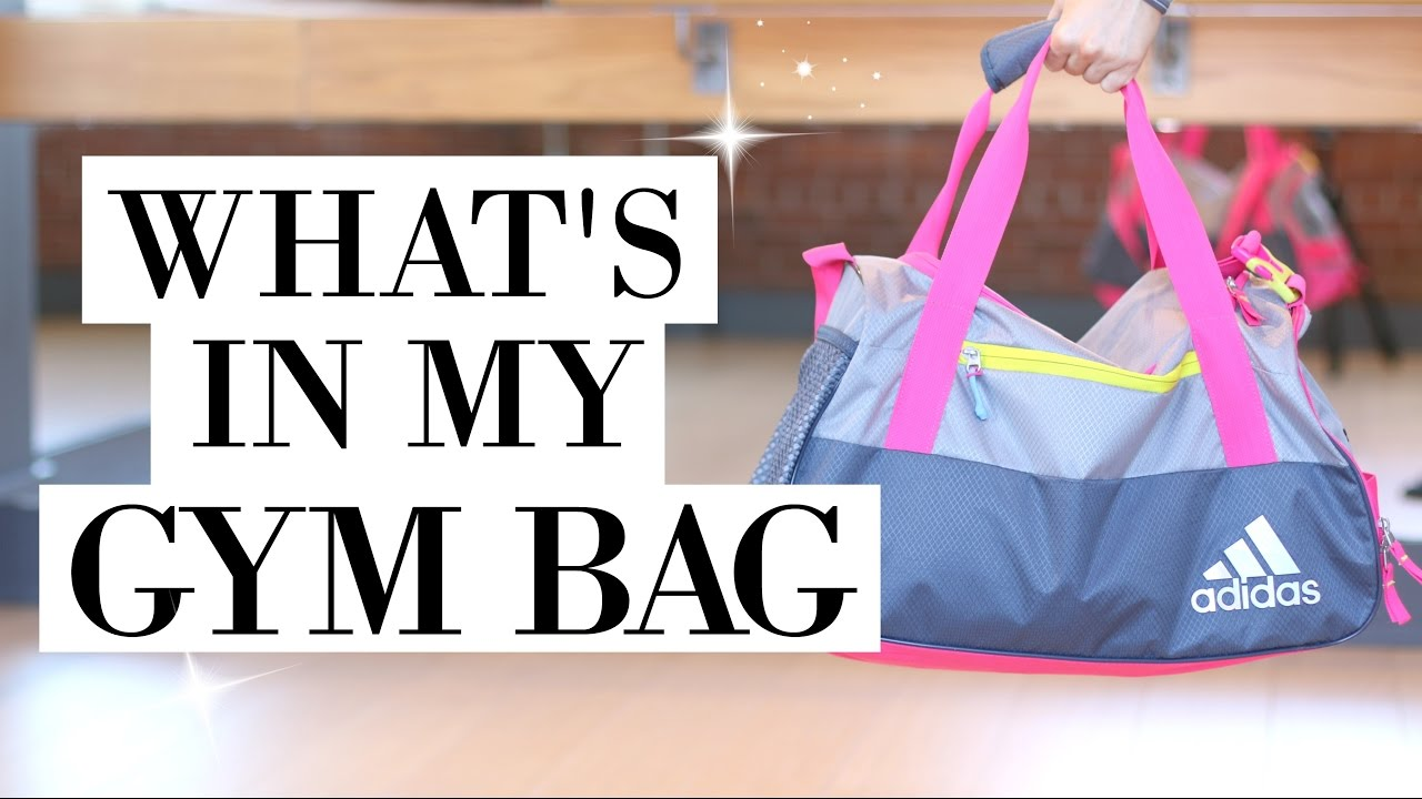 WHAT S IN MY GYM BAG  - YouTube 837792f3b0e10