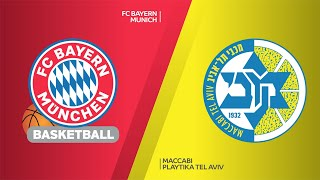 FC Bayern Munich - Maccabi Playtika Tel Aviv Highlights |Turkish Airlines EuroLeague, RS Round 26