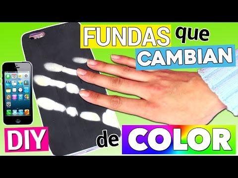 FUNDAS MÁGICAS para móvil que CAMBIAN DE COLOR