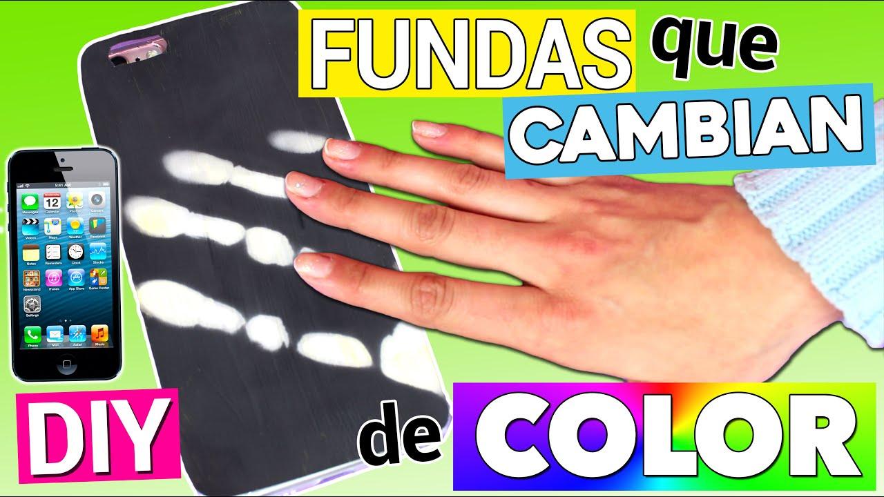 0f1a9869dbd FUNDAS MÁGICAS para móvil que CAMBIAN DE COLOR - YouTube