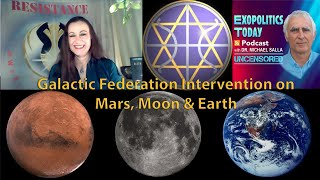 Raise frequency (good feelings) and stop the worlds enslavement. Galactic Federation Intervention on Mars, Moon & Earth