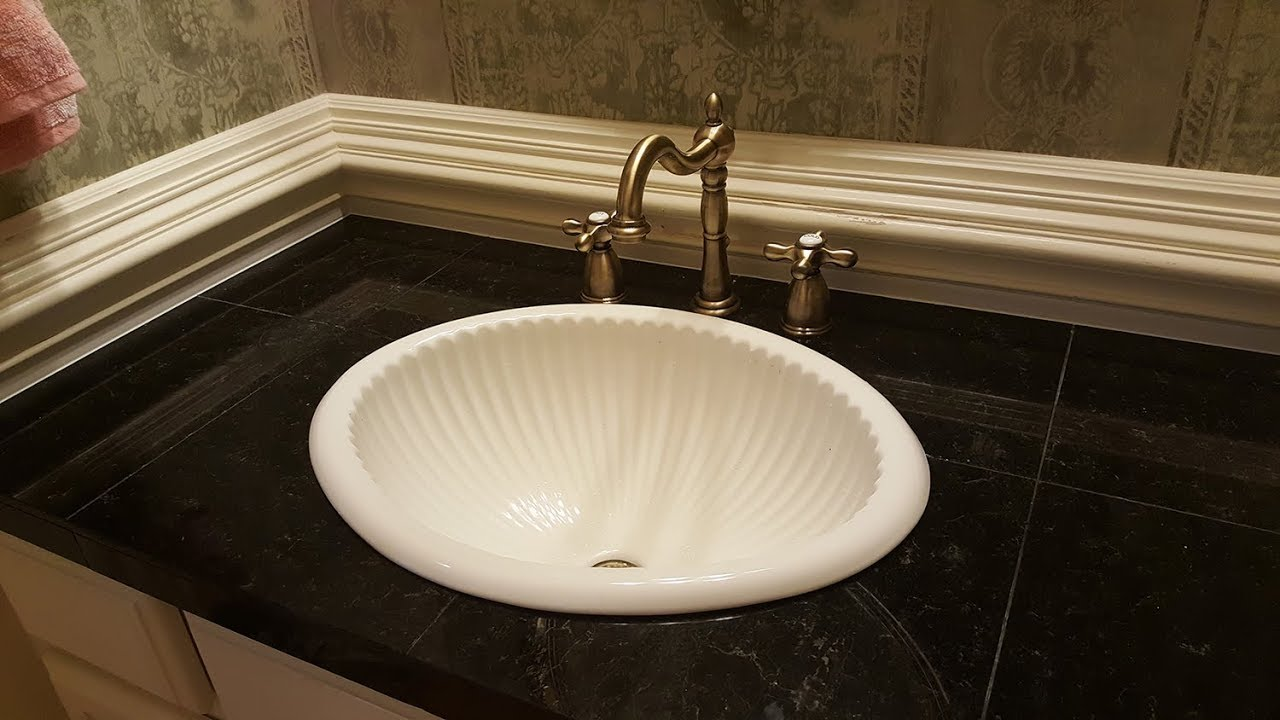 How To Remove Old Faucet And Reinstall Sink.