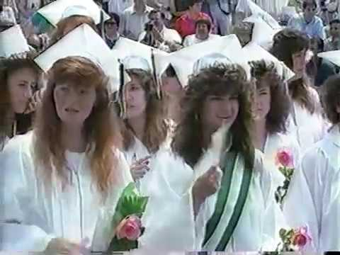 Oliver Ames High School Graduation 1989