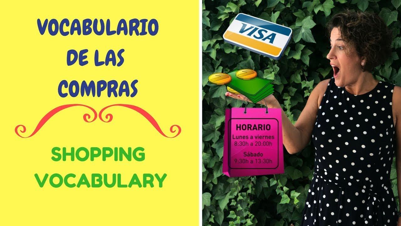 💶💶APRENDER ESPAÑOL: #2 VOCABULARIO SOBRE LAS COMPRAS | SHOPPING VOCABULARY. ESPAÑOL CONVERSACIÓN.#24