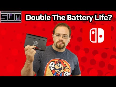 Nintendo Switch Antank Battery Case! Double Your Battery Life?