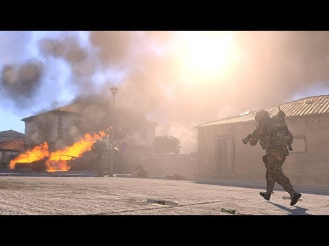 ArmA 3 - Special Forces raid upon Zombies