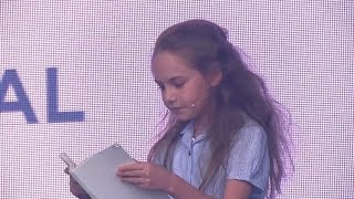 Emma Moore performs 'Naughty' at West End Live 2017 - Day 2