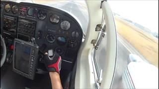 Cessna 340 - despegando 15 TLC