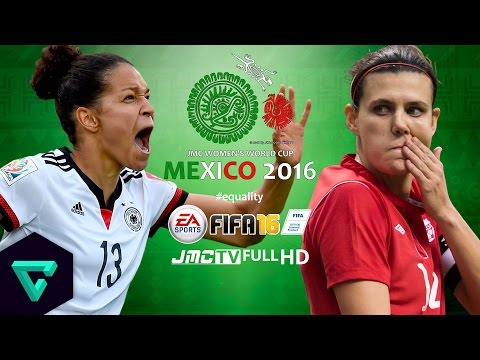 Germany vs. Canada | 2016 jmc Women's World Cup Mexico | FIFA 16