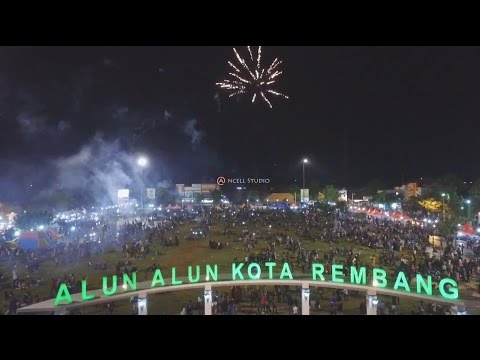 HAPPY NEW YEAR 2017 IN REMBANG CITY - TAHUN BARU 2017 DI KOTA REMBANG