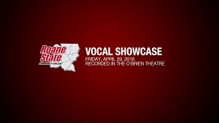 Roane State Vocal Showcase - Spring 2016