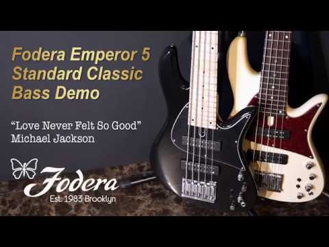 Download Youtube: [MusicForce] Fodera Emperor 5 Standard Classic Bass Demo