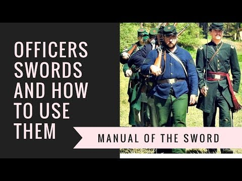 Civil War Manual Of The Sword
