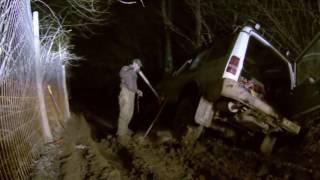 НАСТОЯЩИЕ ПОКАТУШКИ. Сломанный Land Rover  Discovery . Домодедовский район 2013.