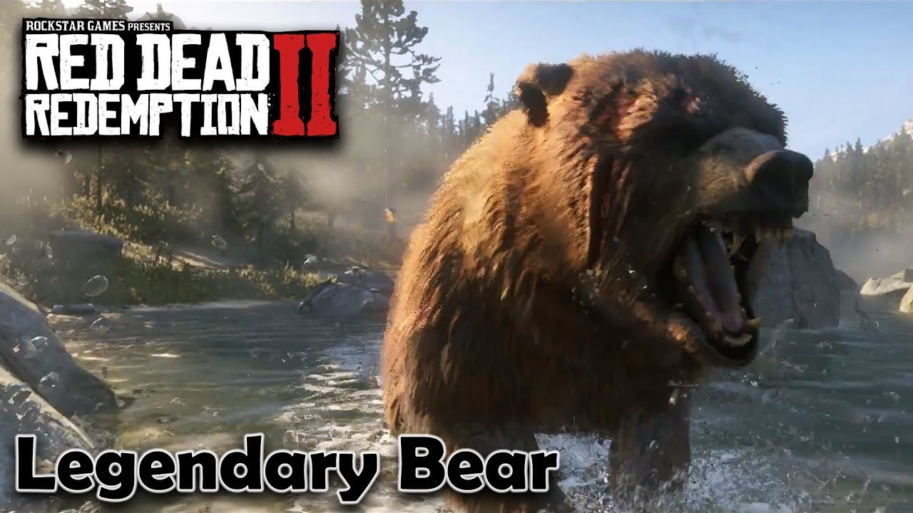 How To Kill The Legendary Bear In Grizzlies East Red Dead