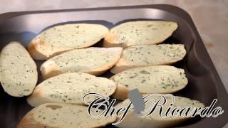 The Best Way To Make Garlic Bread At Home.