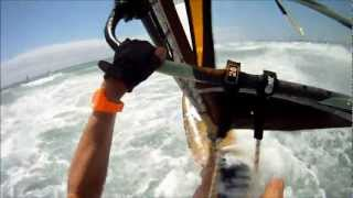 windsurfing Pozo Gran Canaria with gopro camera Rider: Ronald Stout