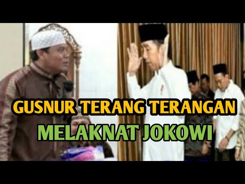 Gus Nur Terang terangan melaknat pak jokowi.ini penjelasan Ustadz Khalid basalamah