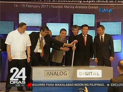 DICT, GMA Network at iba pa bang TV networks, nanguna sa ceremonial switch-on tungo sa Digital TV