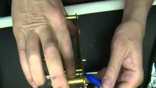 Straightening A Clock Minute Arbor