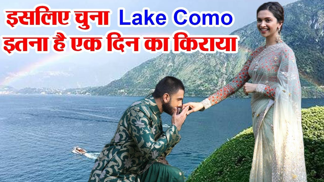 Deepika & Ranveer Singh Wedding | Wedding Destination Lake ...