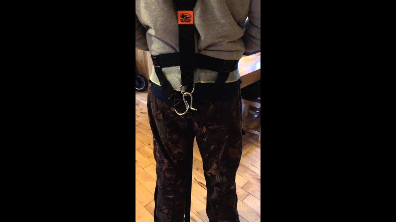 Pro hunter drag harness review - YouTube