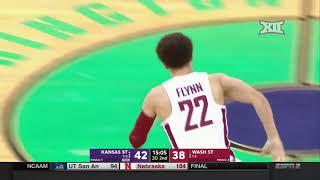 Kansas State vs Washington State Men's Basketball Highlights