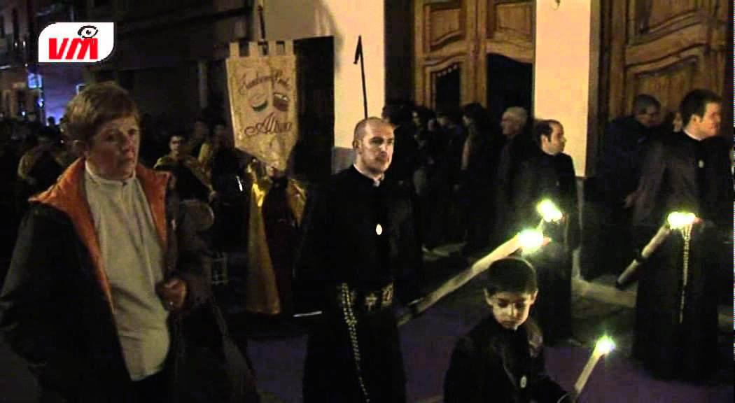 Procesion del Silencio Semana Santa Saguntina 2012