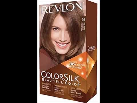 revlon colorsilk hair color 51 light brown 1 ea youtube