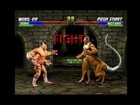 Mortal Kombat Trilogy (PSX) - Longplay as Goro