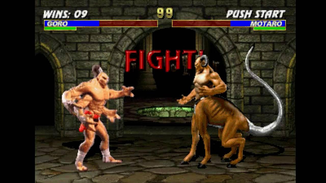 Mortal Kombat Trilogy Psx Longplay As Goro Youtube