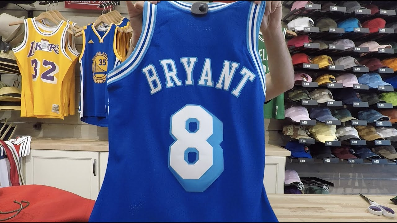 0563ecbec00 Kobe Bryant Mitchell   Ness Authentic Throwback Jersey - YouTube