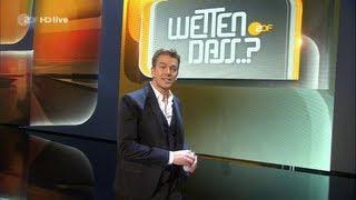 ZDF Wetten, dass..? 2012 komplette Show aus Düsseldorf mit Markus Lanz vom 06.10.12 in HD