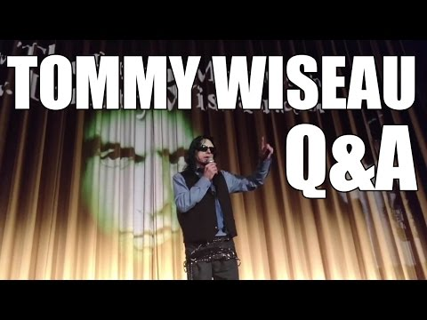Tommy Wiseau Q&A at Plaza Theater in Atlanta, Georgia (April 30, 2016)