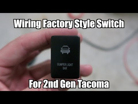 Wiring Factory Style Switch For LED Light Bars