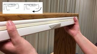 Cordless Lift & Lock: Honeycomb Shades Installation