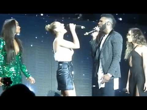 Jason Derulo & Little Mix - Secret Love Song. - London 02