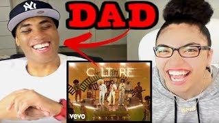 MY DAD REACTS Migos - Walk It Talk It ft. Drake REACTION