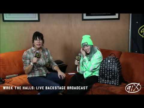 Billie Eilish - live at 91x wrex the halls