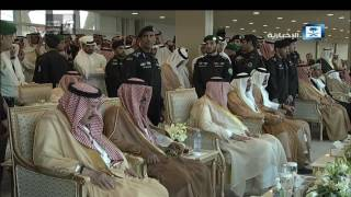 خادم الحرمين يتفاعل مع العرضة السعودية