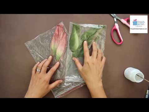 Satin Lily Corsage Tutorial