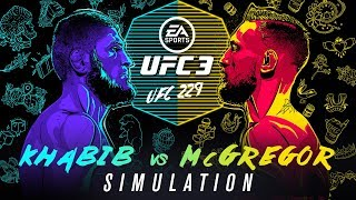 UFC 229 | EA SPORTS UFC 3 Simulation – Khabib vs McGregor