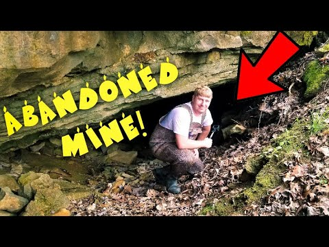 WE FOUND AN ABANDONED MINE WHILE SEARCHING FOR ANTIQUE BOTTLES! (AMERICAN MUDLARKING)